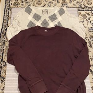 Set of 2 man sweater